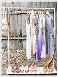 Pipe Clothing Rack DIY