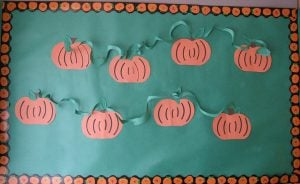 Pumpkin Bulletin Board Ideas for Preschool