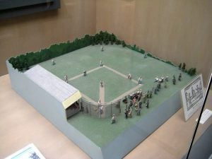 Shoebox Diorama Baseball Field