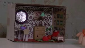 Shoebox Diorama Bedroom