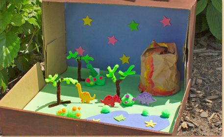 How to make a shoebox diorama 28 ideas guide patterns shoebox diorama instructions sciox Image collections