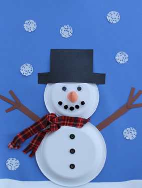 Snowman Paper Plate Craft & 21 Easy Paper Plate Snowman Ideas For Your Kids | Guide Patterns