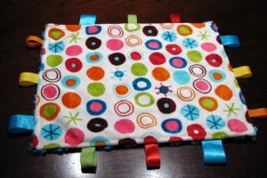 Tag Teething Blanket