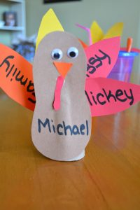 Toilet Paper Roll Turkey DIY