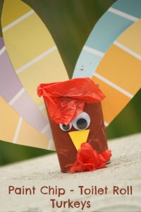 Toilet Paper Roll Turkey Image