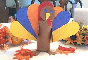 Toilet Paper Roll Turkey Tutorial
