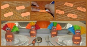 Turkey Fan Toilet Paper Roll Craft
