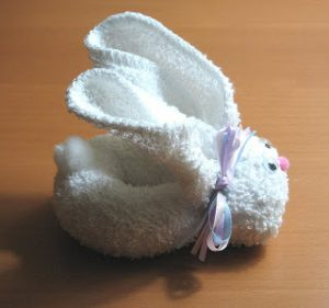 Washcloth Bunny Pattern