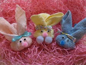 Washcloth Bunny Rabbits
