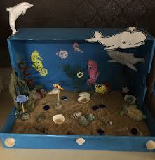 Wetlands Diorama Shoebox