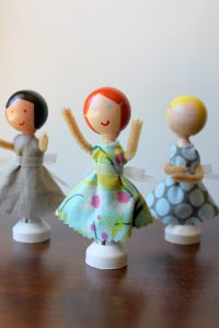 Clothespin Doll Tutorial