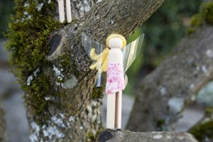 Clothespin Fairy Doll