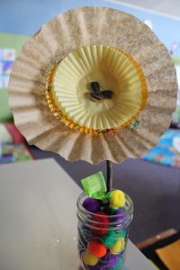 Coffee Filter Cupcake Liner Flowers