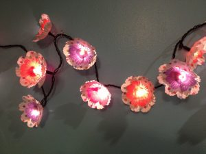 Cupcake Liner Flower Lights