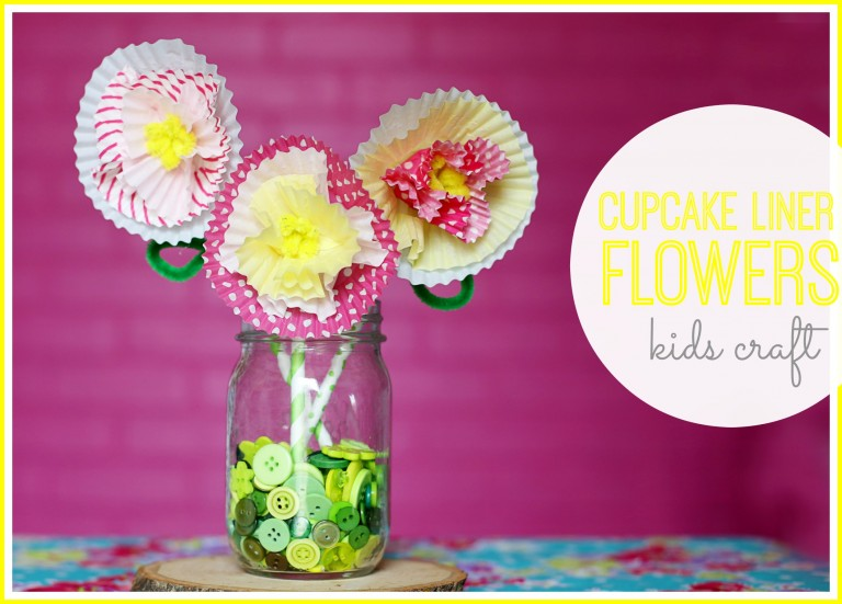 24 Simple Cupcake Liner Flowers Guide Patterns