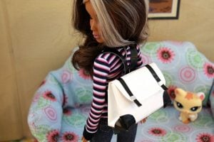Duct Tape American Girl Doll Backpack