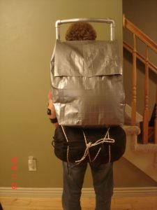 Duct Tape Backpack Image