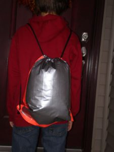 Duct Tape Drawstring Backpack