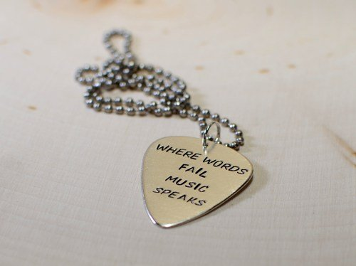 to with make guitar pick necklace step image pictures steps how titled a