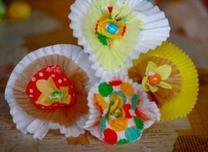 Flower Cupcake Liners