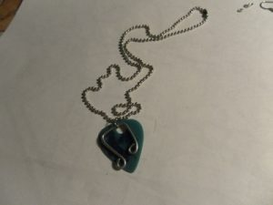 Guitar Pick Necklace Picture