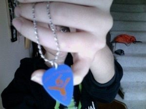 How to Make a Guitar Pick Necklace