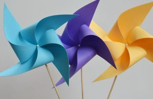 How to Make Paper Pinwheels That Spin
