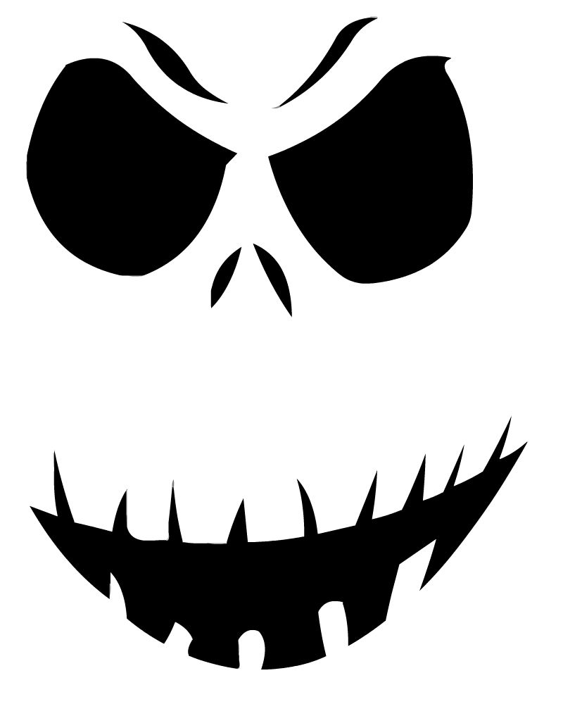 Candid image with regard to jack skellington pumpkin stencils free printable