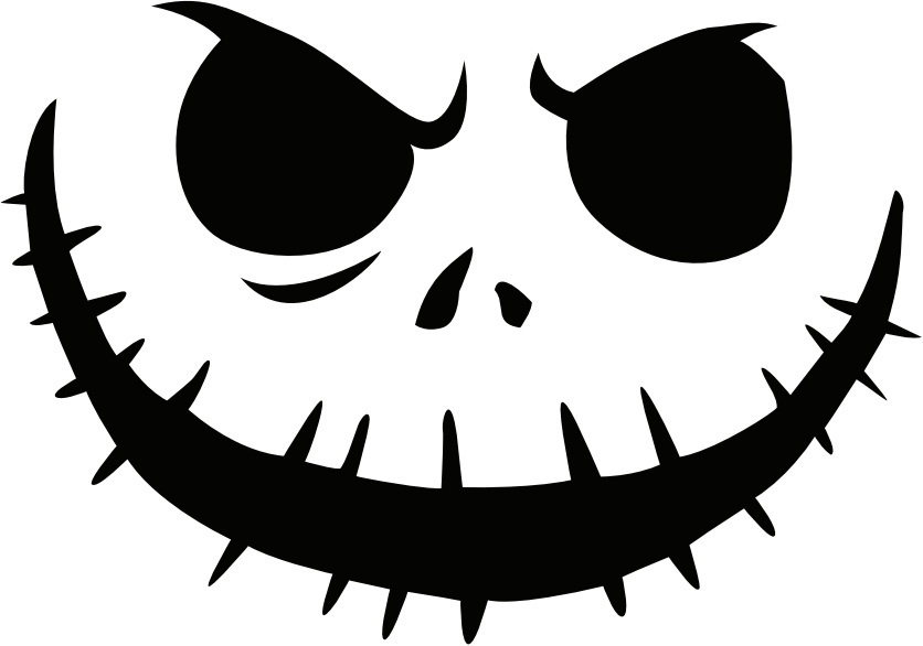 Sassy image for jack skellington stencil free printable