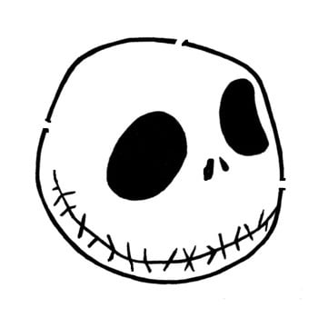 14 Unique Jack Skellington Pumpkin Stencil Patterns ...