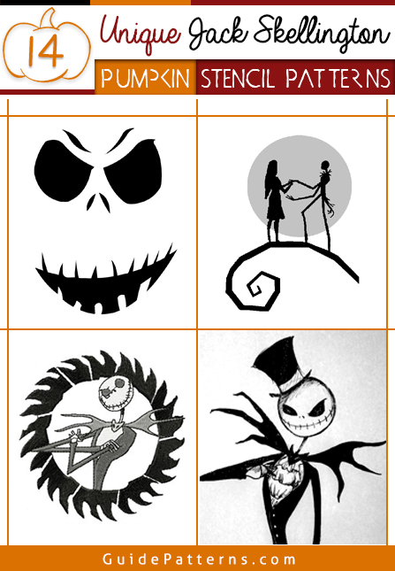 image relating to Free Printable Wine Glass Stencils titled 14 Exclusive Jack Skellington Pumpkin Stencil Designs Advisor