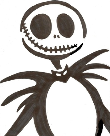 14 unique jack skellington pumpkin stencil patterns for Pumpkin templates free printable