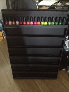 Nail Polish Rack Diy