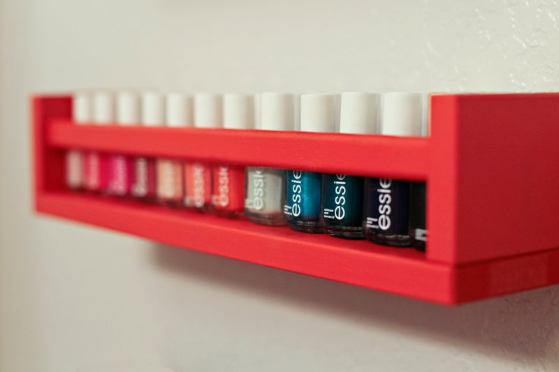 Nail Polish Rack Idea