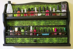 Finger Nail Polish Rack