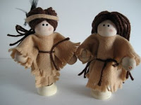Native American Clothespin Dolls Idea