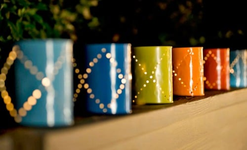 19 Diy Tin Can Lanterns Some With Templates Guide Patterns