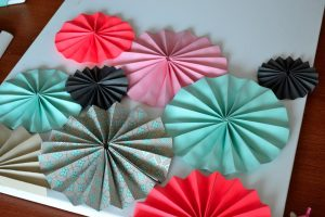 Paper Accordion Pinwheels
