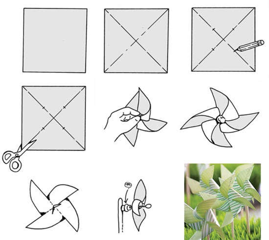 how to make paper pinwheels 35 diys guide patterns