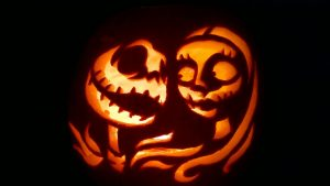 Sally Pumpkin Stencil
