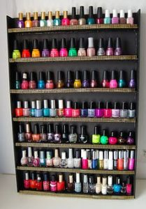 Salon Nail Polish Rack