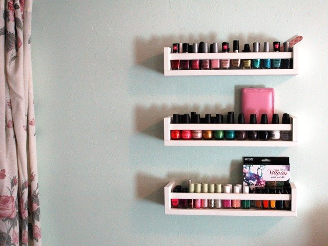 E Rack For Nail Polish