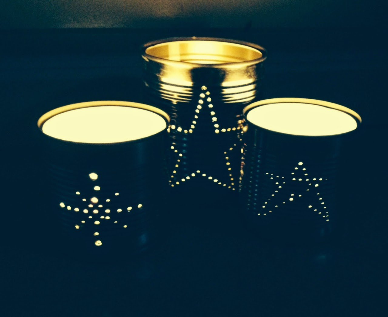 How to make tin can lanterns - Tin Can Lanterns For Wedding