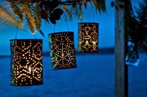 Tin Can Solar Lanterns
