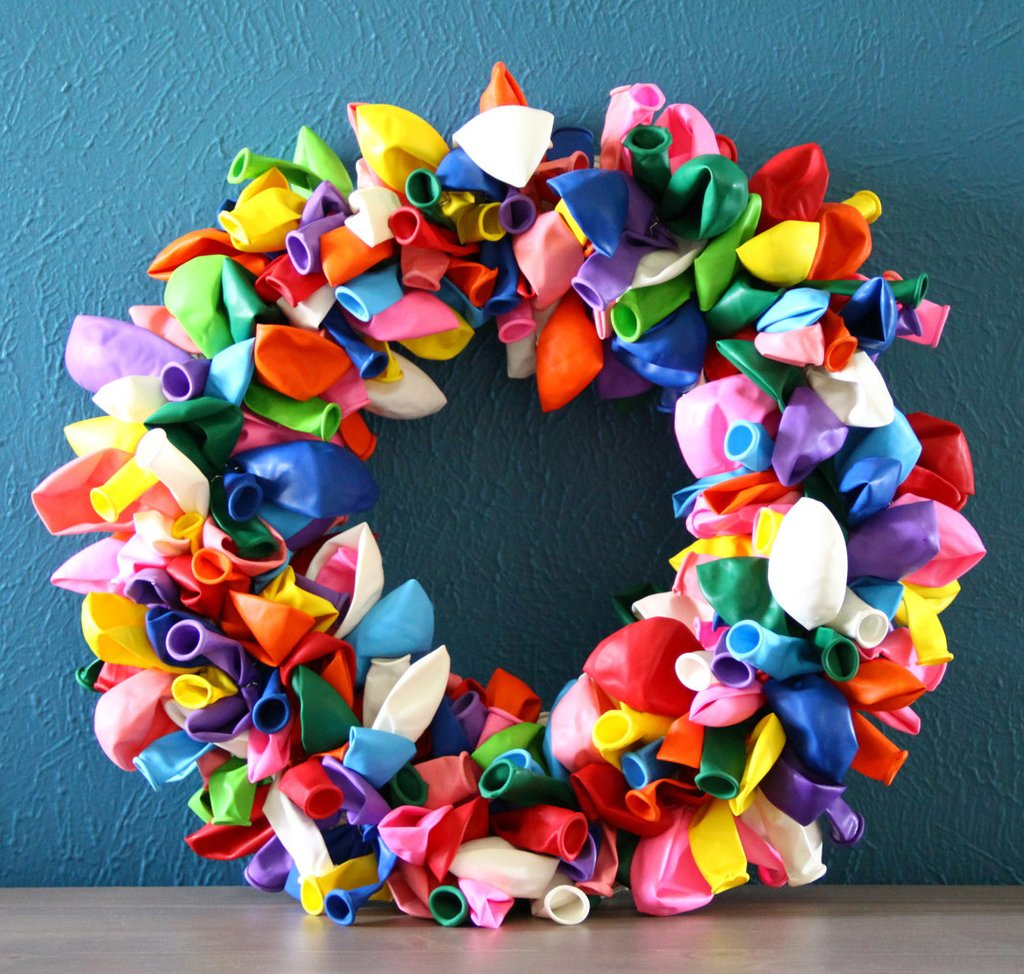 How To Make A Balloon Wreath Guide Patterns