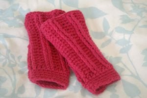Free Crochet Pattern Leg Warmers Child : 32 Free Patterns to Make Crochet Leg Warmers Guide Patterns