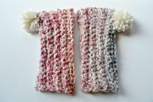 Crochet Leg Warmer Pattern Image