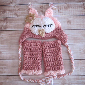 Free Crochet Owl Leg Warmer Pattern Dancox For