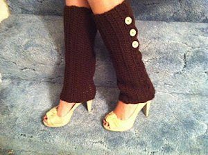 Crochet Pattern for Leg Warmer