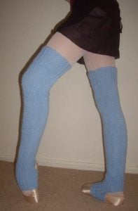 Crochet Thigh High Leg Warmers